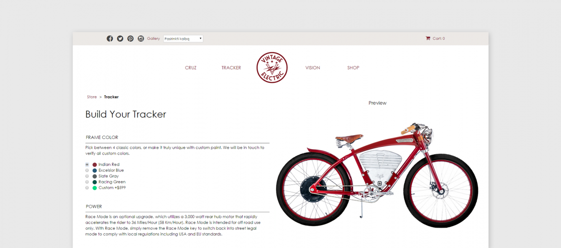 vintage electric bikes customizer